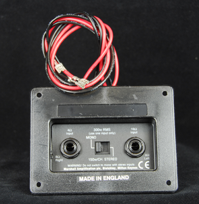 Marshall Speaker Cab Sockets