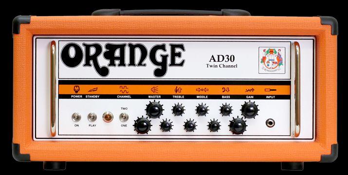 Orange Amp Heads