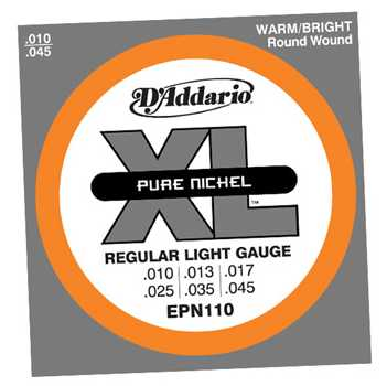 D'Addario EPN Pure Nickel