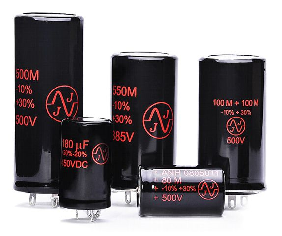 JJ Radial and Electrolytic Capacitors
