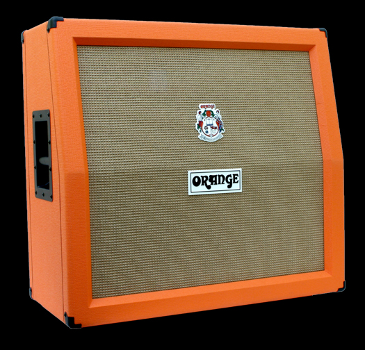 Orange Speaker Cabinets