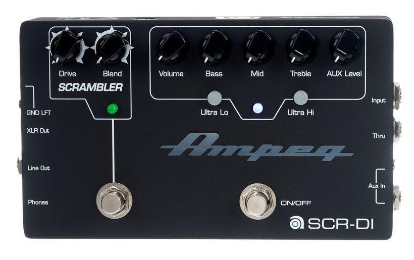 Ampeg FX Pedals