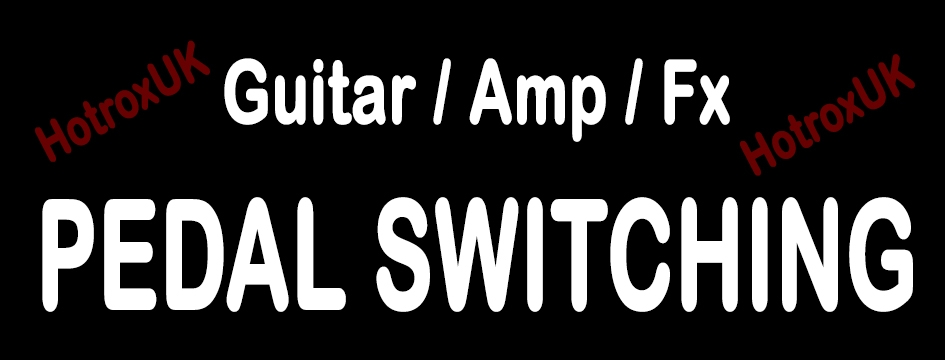 8) Guitar Switching Pedals