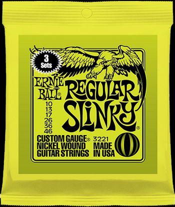 Ernie Ball 3 Pack Slinkys