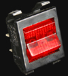 Marshall Amp Switch - Mains Red