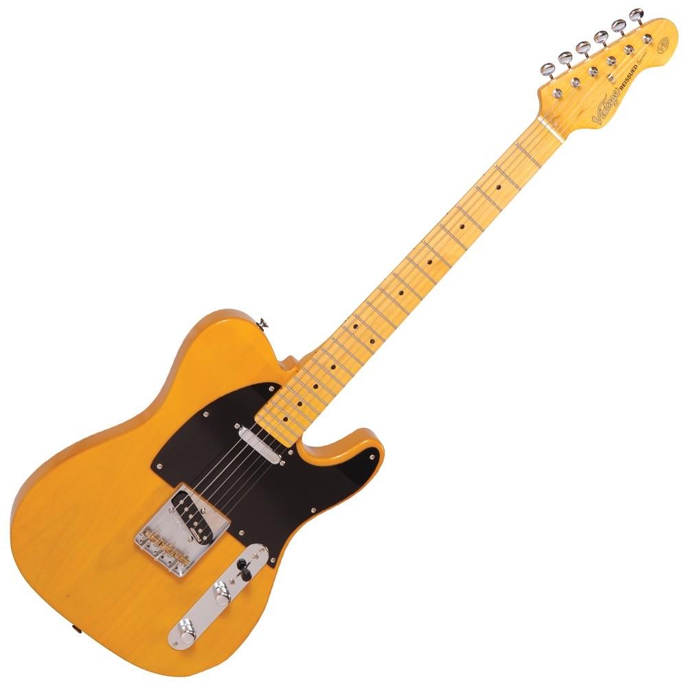 vintage v52bs butterscotch electric guitar hot rox uk hot rox uk. Black Bedroom Furniture Sets. Home Design Ideas