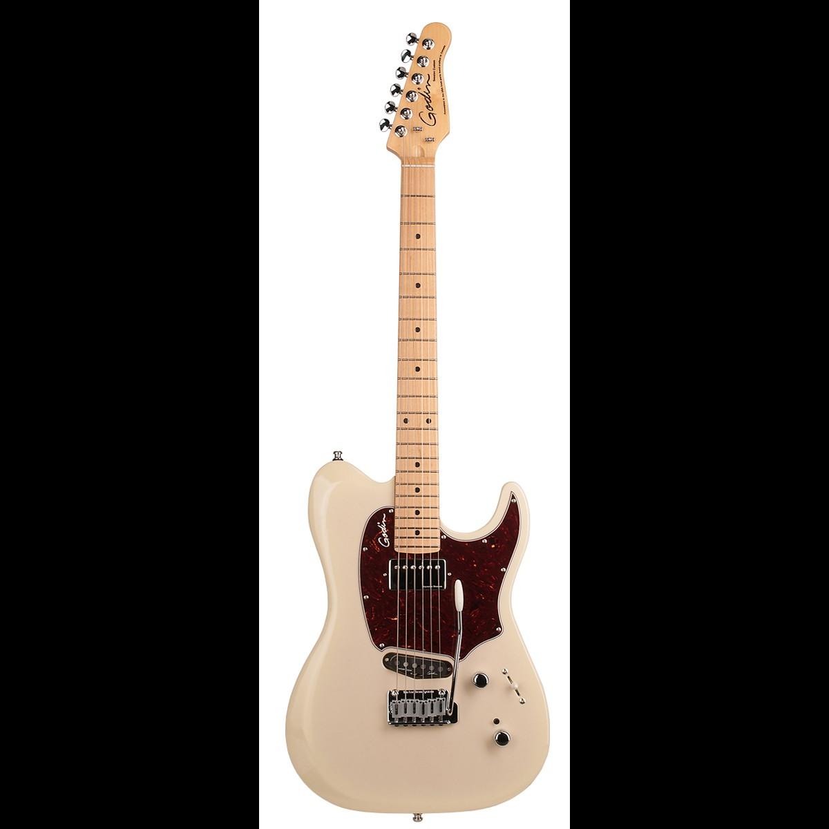 godin session custom 59 hg maple guitar trans cream with gig bag hot rox uk. Black Bedroom Furniture Sets. Home Design Ideas