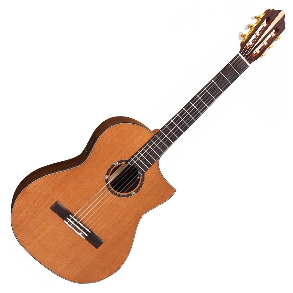 vintage roger williams nylon electro acoustic crossover guitar hot rox uk. Black Bedroom Furniture Sets. Home Design Ideas