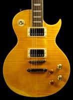 Vintage ICON V100MRPGM Electric Guitar, Lemon Drop
