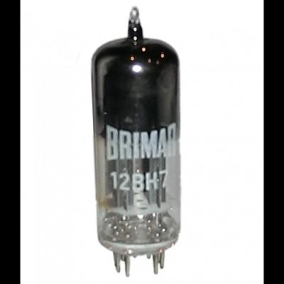 Brimar 12BH7 Brimar (Made in England).