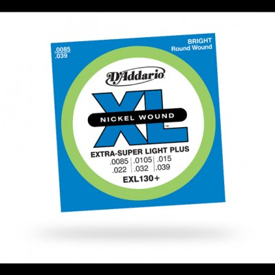 D'Addario EXL130+ Extra Super Light Plus