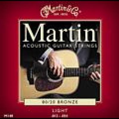Martin 80/20 Bronze Acoustic Strings M140