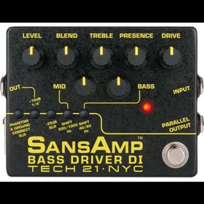 Tech 21 BSDR SansAmp Bass Driver Di V2