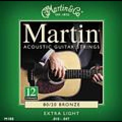 Martin 12 Strings 80/20 Bronze Extra  Light 10-47, M180