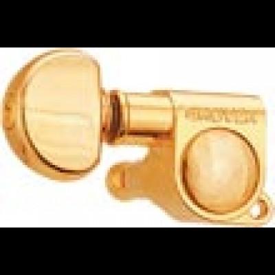 Grover Machine Heads Mini Locking Rotomatics Gold  205G