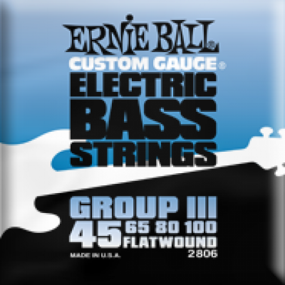 Ernie Ball Flatwound 45-100 2806 EP02806