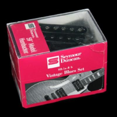 SH-4/SH-2N Vintage Blues Humbucker Set (Black)