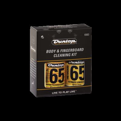 Dunlop JD-6503 Formula 65 Body & Fingerboard Care Kit