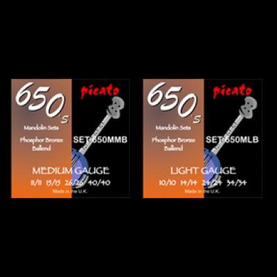 Picato 650's Mandolin Phosphor Bronze Ball End