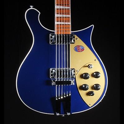 Rickenbacker 660 Electric Guitar, Midnight Blue