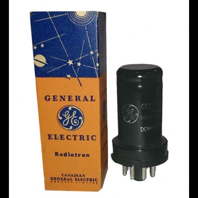 General Electric 6SJ7 (Metal Case)