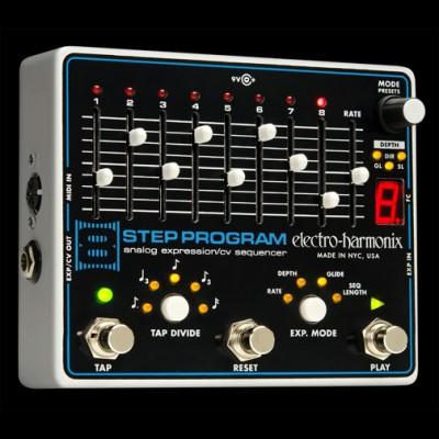 Electro Harmonix 8 Step Program, Analog Expression, Sequencer