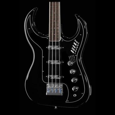 Burns Bison 61 Bass Guitar (Black)