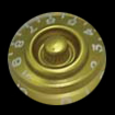 Guitar Tech Control Knob (Gold)