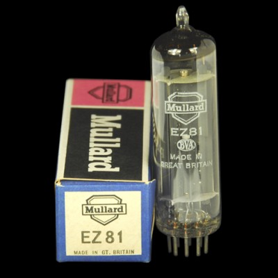 Mullard UK EZ81 Rectifier
