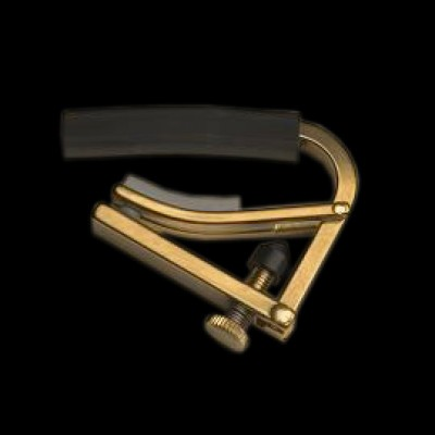 Shubb C4B Original Electric Guitar Capo, Brass