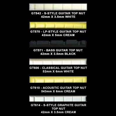 Guitar Top Nuts