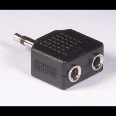 "2 x 1/8"" mono jack to 1/8"" mono plug AD-08"