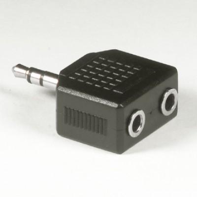 "2 x 1/8"" stereo jack to 1/8"" stereo plug AD-09"