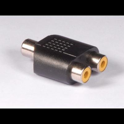 2 x RCA phone jack to RCA phone jack AD-20