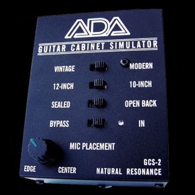 A/DA GCS-2 Guitar Cabinet Simulator & DI Box