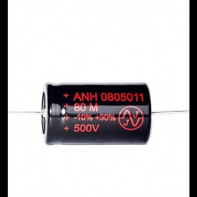 JJ 80uF/500V Axial Capacitor