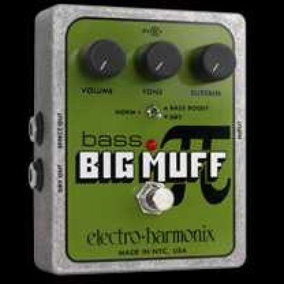 Electro Harmonix Bass Big Muff Pi Distortion / Sustainer