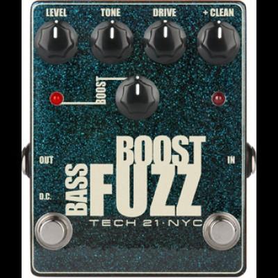 Tech 21 Bass Boost Fuzz pedal BST-BF