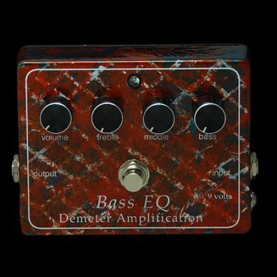 Demeter BEQ-PB Bass EQ Preamp Pedal