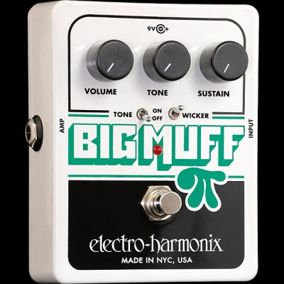 Electro Harmonix Big Muff Pi with Tone Wicker Distortion/Sustainer