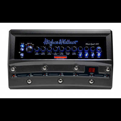 Hughes & Kettner Black Spirit 200w Guitar Head