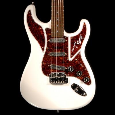 Burns Guitar Cobra White