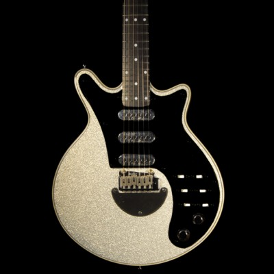 Brian May Guitars Silver Sparkle