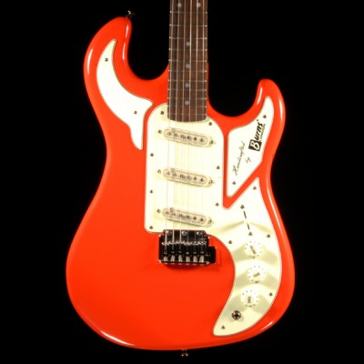Burns Guitar Marquee Red