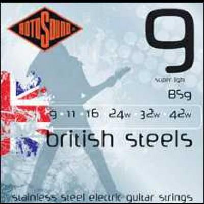 Rotosound British Steels Guitar Strings
