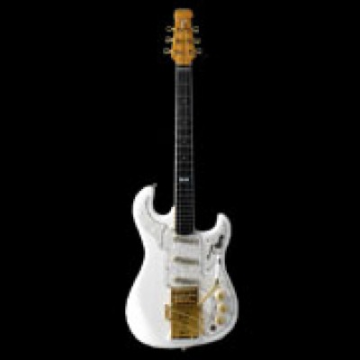 Apache Noisless guitar White