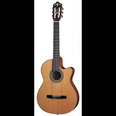 Crafter CE15 Classical Guitar, Solid Cedar Top with Deluxe Bag