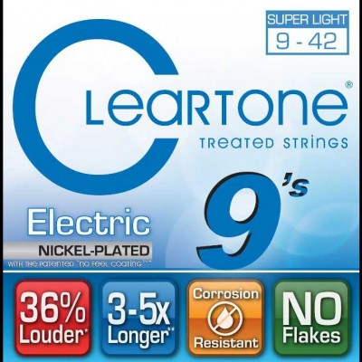 Coated Electric Strings 9-42