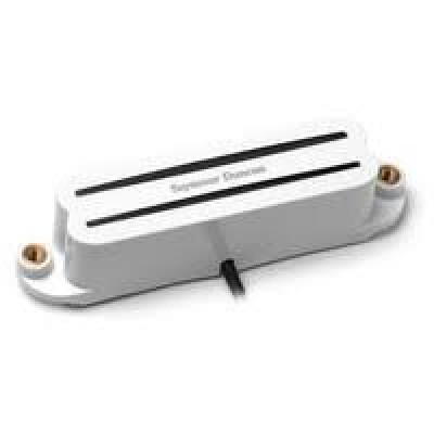 Seymour Duncan  SCR-1B Cool Rails for Strat, (Bridge, White)