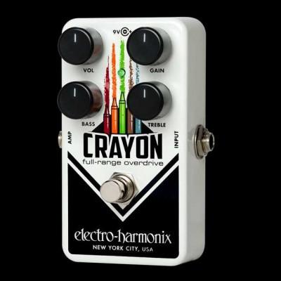 Electo Harmonix Crayon Full-Range Overdrive